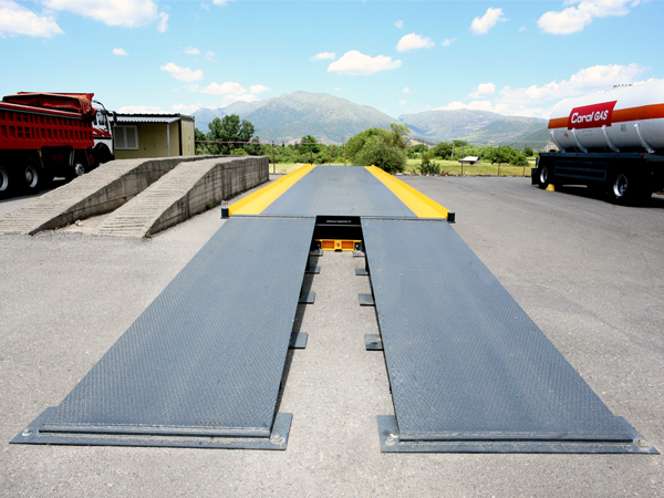 DIY steel weighbridge