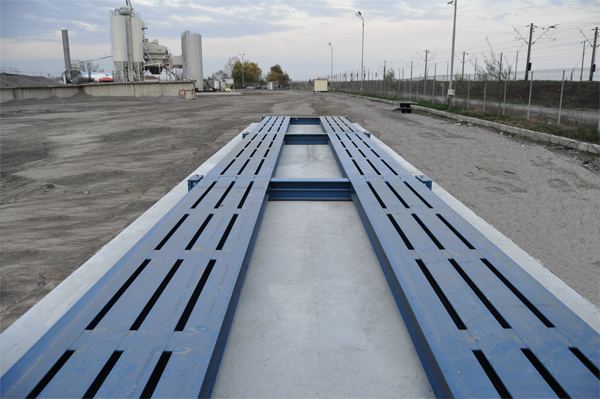 TS300 trasportable weighbridge