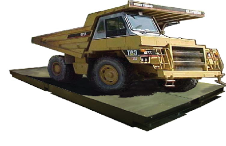 Jumbo off road weighbridge